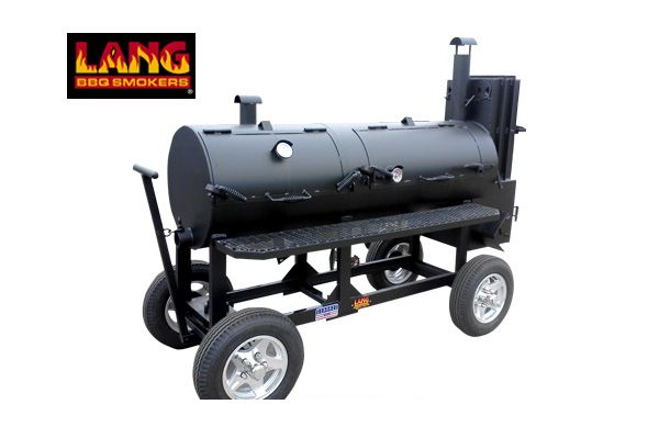 """48"""" Hybrid Deluxe Patio Lang BBQ Smoker Cookers"""