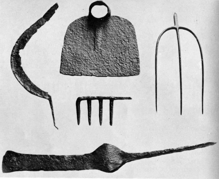 Agricultural implements from Jamestown settlement