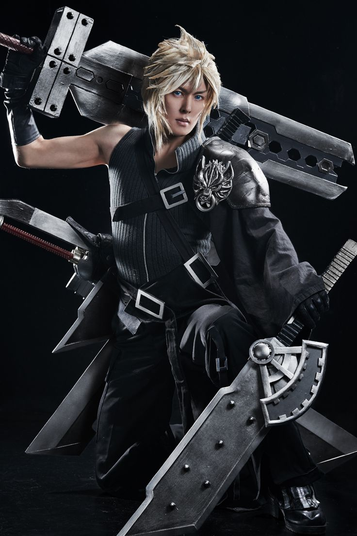 FF7 AC クラウド ストライフ - KANON(KANON) Cloud Strife Cosplay Photo - WorldCosplay