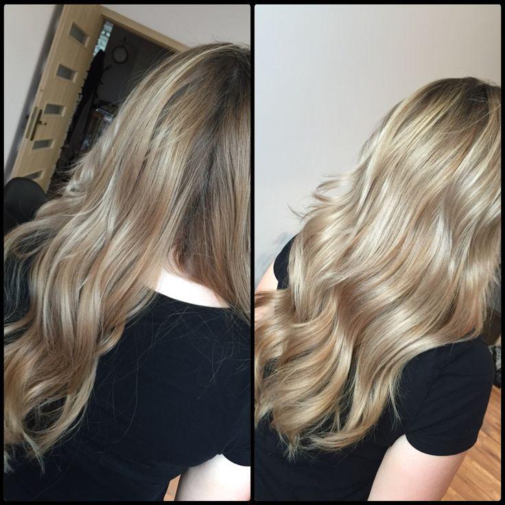 Pomoc po domowych rewolucjach Alexandry  #blondHair #hairdresser