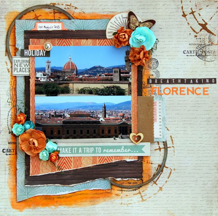 All About Scrapbooks - Kaisercraft Outdoor Trail Collection - by Fiona Johnstone