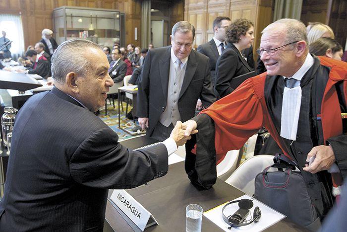 Tres semanas de audiencias tuvieron Nicaragua y Costa Rica para exponer sus posiciones en el conflicto limítrofe. LA PRENSA/ ARCHIVO