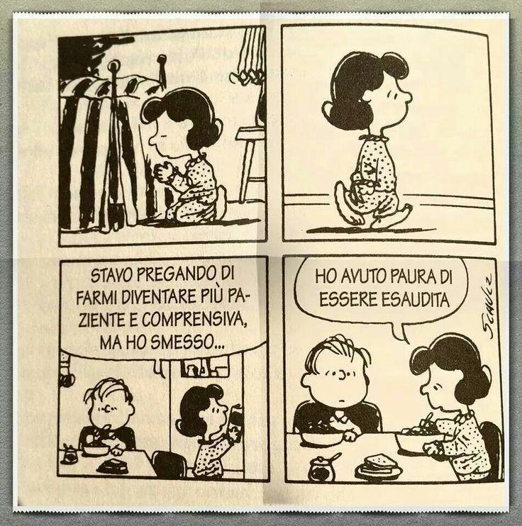 Mafalda e la preghiera