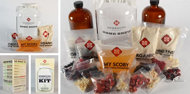 Kombucha Home Brewing Kits