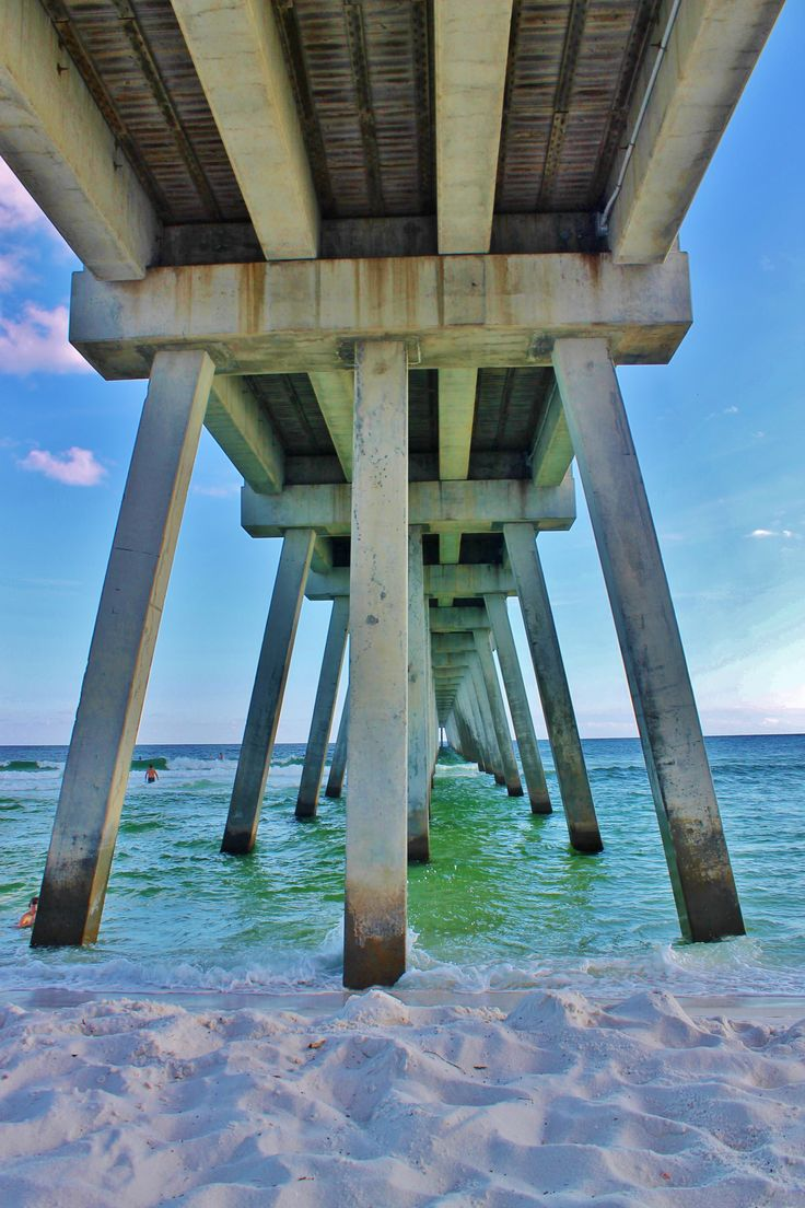 Gulf Coast longest Pier Navarre Beach, Florida           By Kim Lewis Photography