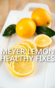 Dr Oz: Meyer Lemon Heartburn Treatment & Liver Detox Ice Cubes