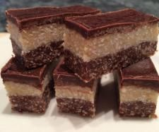 Recipe Raw Coconut Slice - Live Love Eat Raw Recipe Converted by sarah_philp - Recipe of category Desserts & sweets