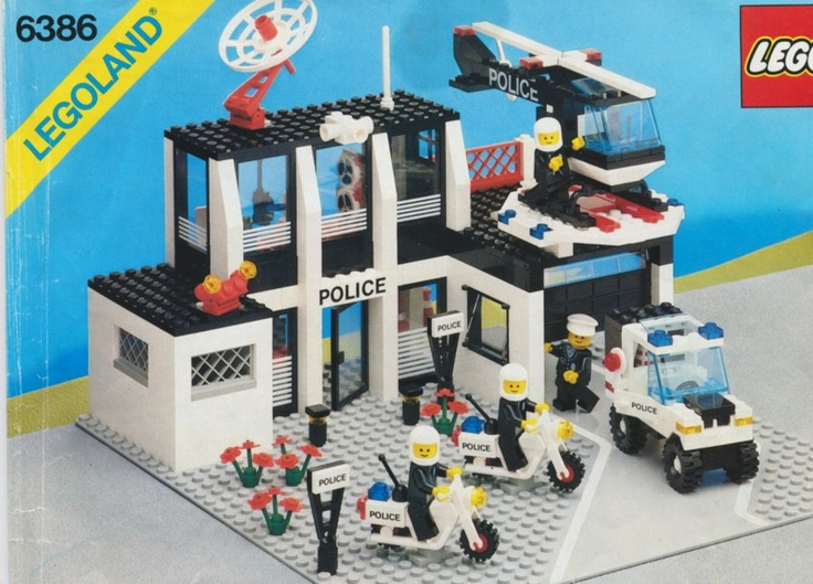 Not yet-    Original Lego police station