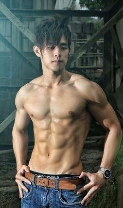 Body Asian guy