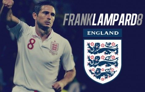 Frank Lampard England Wallpaper