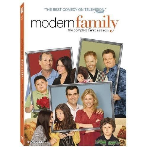 Modern Family: The Complete First Season (DVD 2010 4-Disc Set) NEW