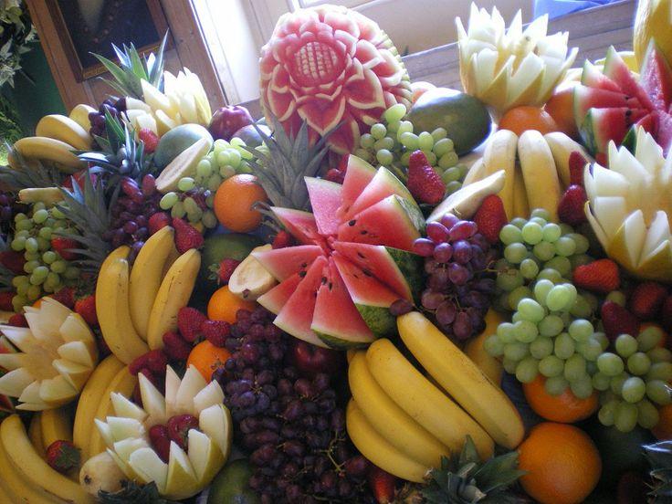 Fruit displays for wedding receptions parents unite
