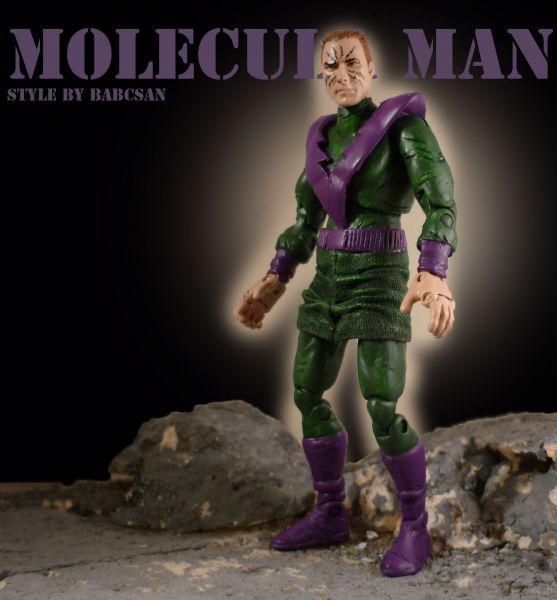Molecule Man (Owen Reece) (Marvel Legends) Custom Action Figure