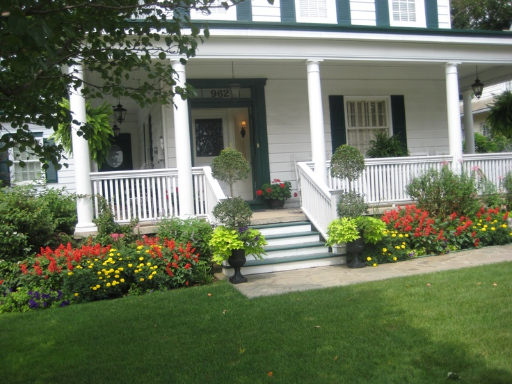 Landscaping Ideas Around Front Porch