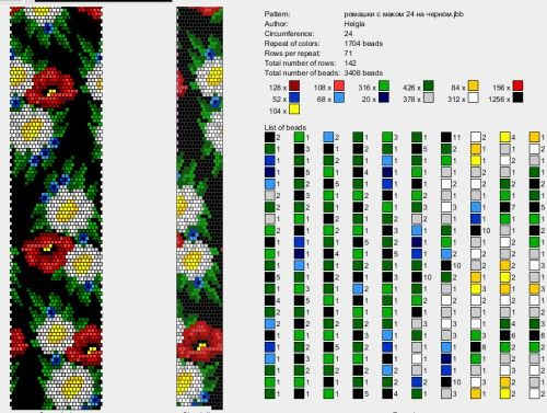 Beads Crochet, Бисерные Жгуты,