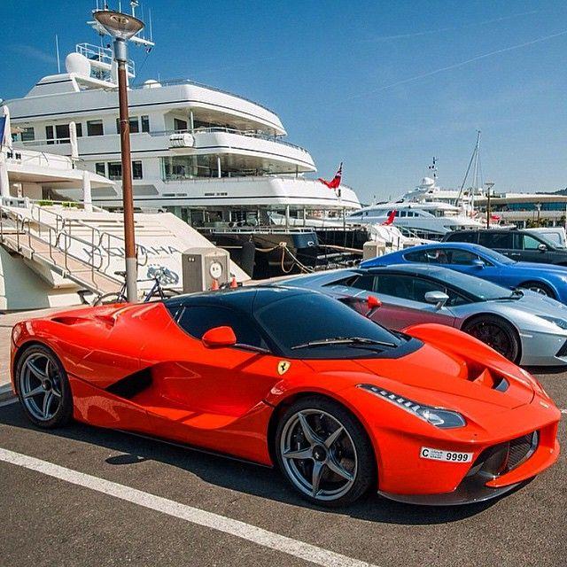 LaFerrari, Aventador, And A Bentley
