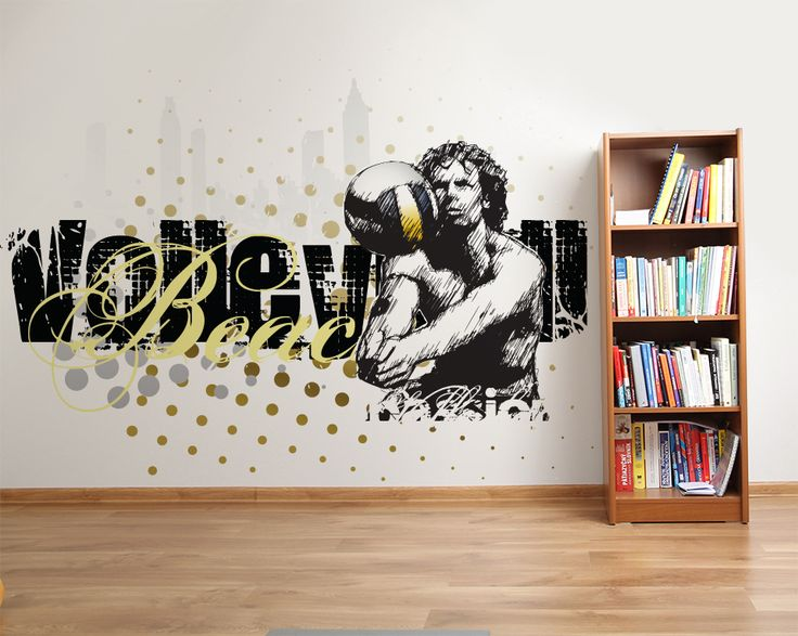 Wallpaper Sticker BEACH VOLLEY PASSION by Sticky!!!