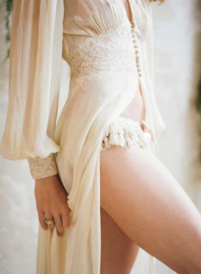 Romantic boudoir…