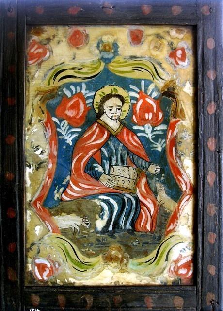 E 1 230 -reverse glass painting http://www.pinterest.com/samuelchenal/peinture-sous-verre/