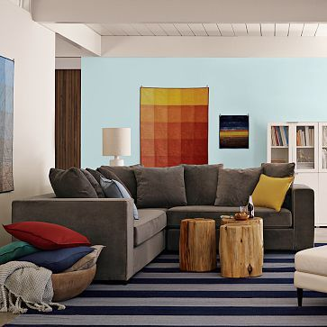 Walton Sectional #WestElm : walton sectional - Sectionals, Sofas & Couches