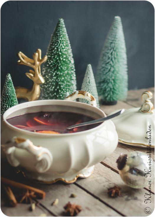 Kleiner Kuriositätenladen: Weihnachtspunsch mit Rotwein