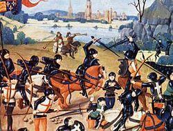 """Batalha de Agincourt foi uma batalha decisiva ocorrida na Guerra dos Cem Anos. Acontecida em 25 de outubro de 1415 (Dia de São Crispim), no norte da França, resultou em uma das maiores vitórias inglesas durante a guerra. Aquele que sobreviver esse dia e chegar a velhice, a cada ano, na véspera desta festa, convidará os amigos e lhes dirá: """"Amanhã é São Crispim"""". E então, arregaçando as mangas, ao mostrar-lhes as cicatrizes, dirá: """"Recebi estas feridas no dia de São Crispim.""""   Assim…"""