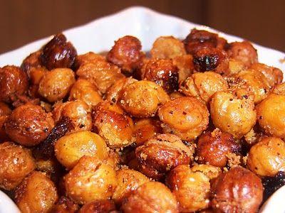 Italian Roasted ChickpeasRoasted Chickpeas, Chickpeas Recipe, Chicks Peas, Style Cuisine, Cookin, Italian Style, Healthy Food, Italian Roasted, Toast Chickpeas