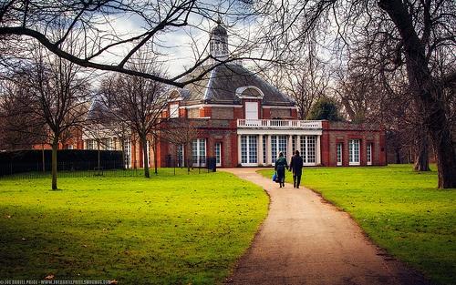 The Serpentine Gallery, Kensington Gardens, London, England