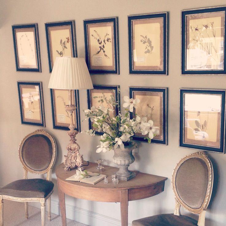 Hattie Hatfield | Design. Antique french herbiers x