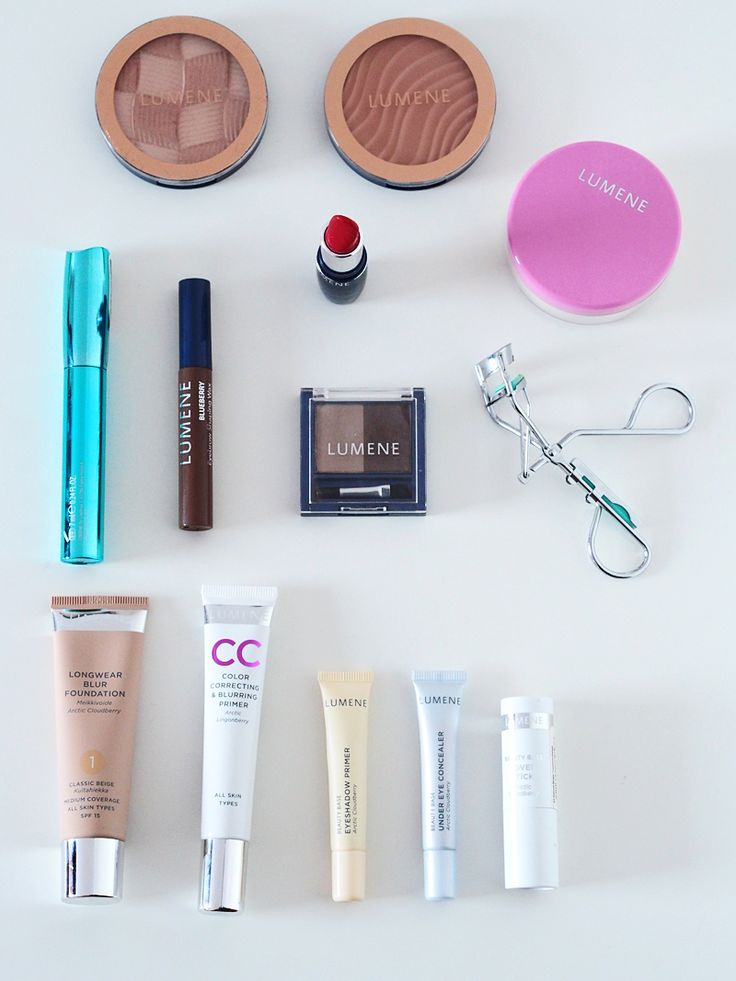 Blogger @merenhelmi's Lumene favorites for a perfect every-day make-up. #makeup #lumene