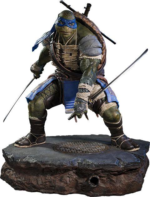 TMNT Leonardo Polystone Statue by Prime 1 Studio | Sideshow Collectibles