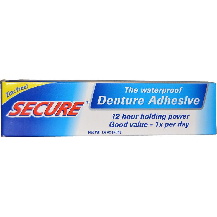 Denture Adhesive Waterproof- 1.4 oz. (Formerly Secure Denture Bonding Cream)
