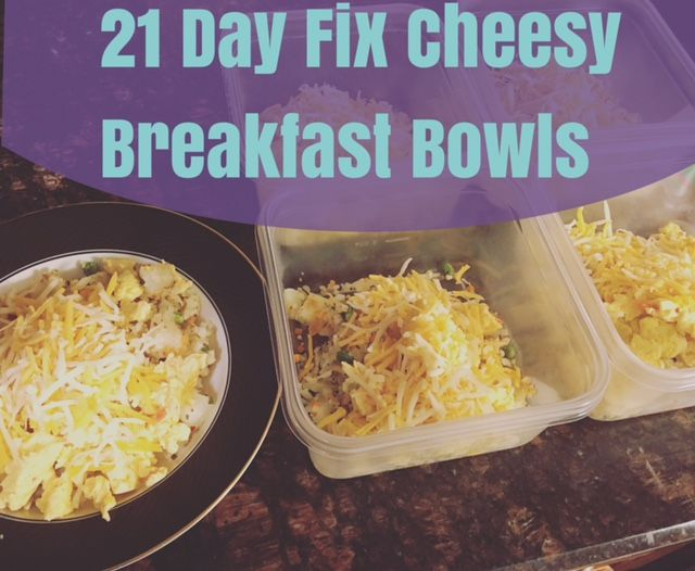 Easy Cheesy Breakfast Meal Prep for IIFYM, 21 Day Fix, or Weight Watcher's