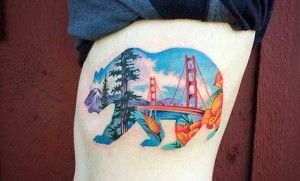 The Absolute Best State of California Tattoo