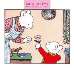 Rupert Bear Mother's Day Card
