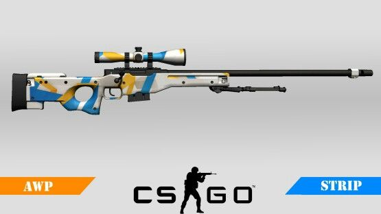 Counter-Strike Global Offensive: Workshop Created Community Weapon: AWP Strip
