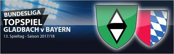 Topspiel des 13. #Bundesliga Spieltags: Borussia Mönchengladbach empfängt den FC Bayern München! Behält Jupp seine weiße Weste? Unser Wett-Tipp für #bmgfcb auf MeinOnlineWettanbieter.com