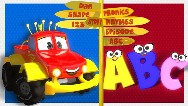 Let's learn the alphabets A to Z with Monster Truck Dan...:) #alphabets #atoz #forkids #educational #learning #kids #parents