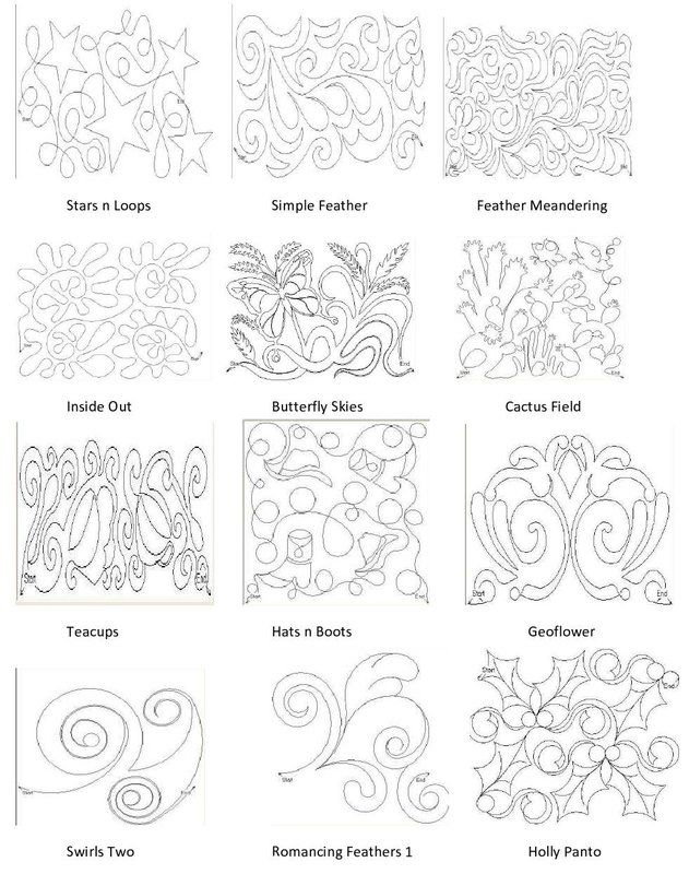 291 best QT Quilting Stencils & Pantographs images on Pinterest ... : stencils for quilting free pattern - Adamdwight.com