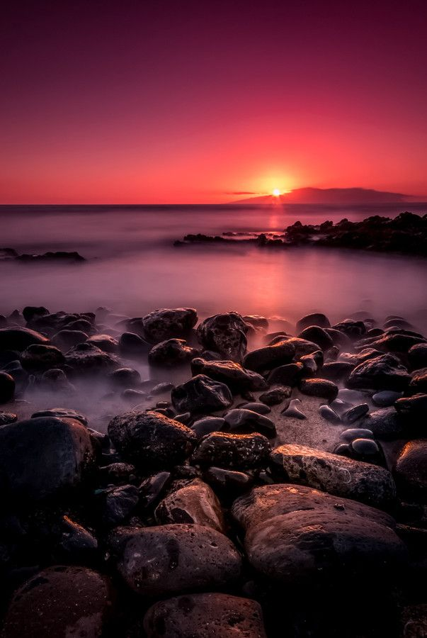 sun behind La Gomera by Christian G. on 500px