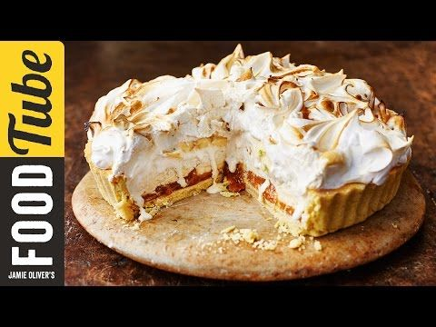 This recipe from Jamie Oliver's Christmas Cookbook is quite simply the best thing you will ever taste! Jamie's twist on the classics - Banoffee Pie and Baked...