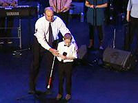 Blind 10 Year Old Boy With Autism Blows his Church Away with a Song - This is a Must See