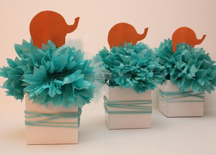 Sadie Priss: Mod Elephant Baby Shower