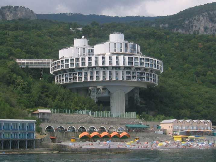 Ukraine -Yalta - Sanatorium Kurpaty