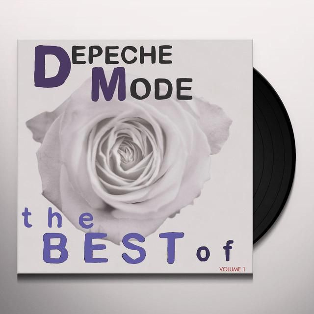 Depeche Mode Best Of 1 Vinyl Record Depeche Mode Vinyl Records Records