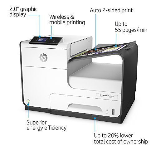 HP PageWide Pro 452dw D3Q16A Wireless 300 Sheets Printer with Duplex Printing #HP