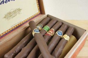 Pretzel Cigars- great boys birthday treat!