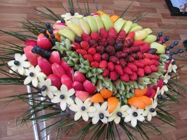 Фигурная нарезка овощей и фруктов