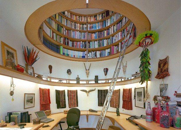 knihovny ve strope - Hledat Googlem