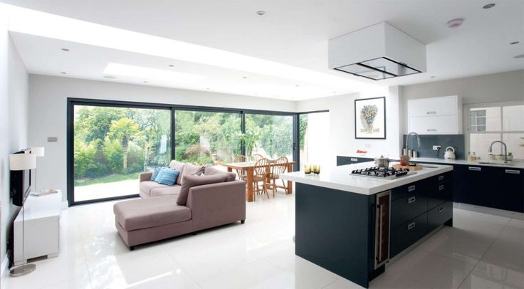 Gorgeous kitchen/dining/living